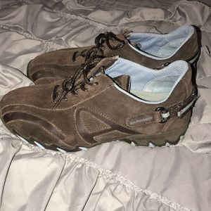 Mephisto leather hiking shoes
